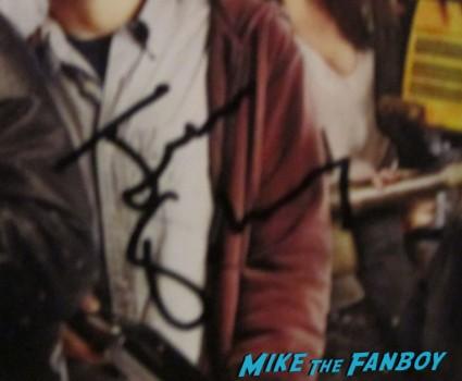 jesse eisenburg signed autograph rare promo zombieland dvd cover movie poster photo rare promo hot sexy