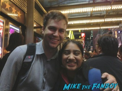 Taran Killam fan photo rare promo hot sexy comedian rare prom signing autographs for fans rare