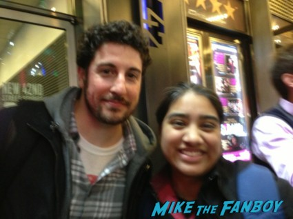 Jason biggs fan photo american pie rare promo hot sexy pie fucker rare promo signing autographs for fans hot