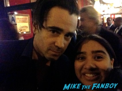 colin farrell signing autographs for fans fan photo rare promo total recall fright night star sexy