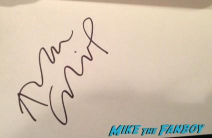 Alan Cumming  signed autograph index card rare promo hot sexy burlesque star rare