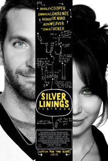 Silver linings playbook movie poster with bradley cooper jennifer lawrence hot sexy one sheet movie poster promo