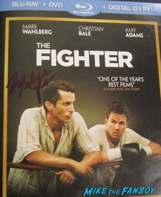 Melissa Leo signed autograph the fighter dvd cover movie poster promo hot rare marky mark wahlberg christian bale