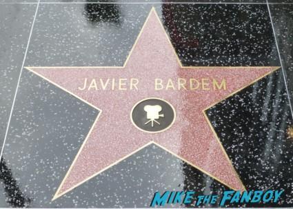 Javier Bardem walk of fame star on hollywood blvd rare promo vicky christina barcelona