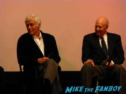 The Comic q and a with dick van dyke carl reiner michele lee at the beverly cinema in los angeles