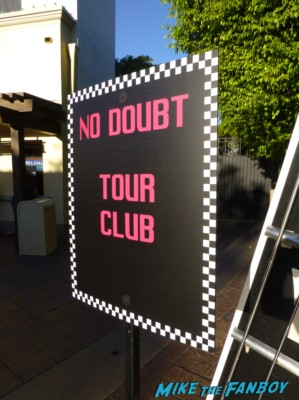 no doubt tour club at the tour live in concert gibson ampitheater los angeles california rare promo