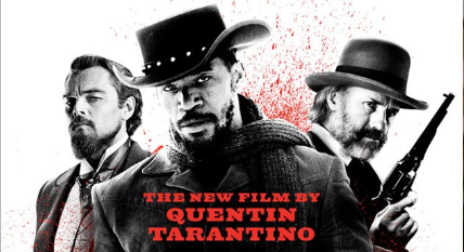 Django Unchained rare promo one sheet movie poster new promo hot sexy jamie foxx christoph waltz leo dicaprio quentin tarantino