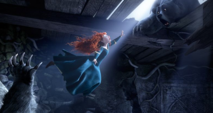brave walt disney press promo still kelly macdonald rare pixar animated classic