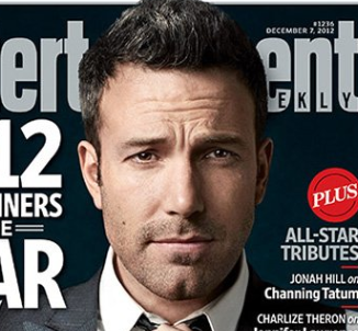 Ben Affleck entertainer of the year magazine cover entertainment weekly rare promo hot sexy argo star rare promo