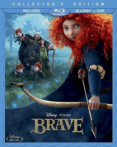 brave blu ray combo pack 3d rare kelly macdonald hot rare dvd key art press still