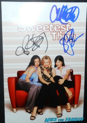 christina applegate signing autographs the sweetest thing dvd cover cameron diaz selma blair