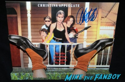christina applegate signed autograph don't tell mom the babysitters dead promo poster counter standee rare hot