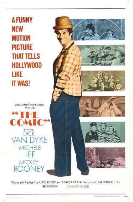 the comic rare movie poster dick van dyke carl reiner michele lee one sheet teaser poster