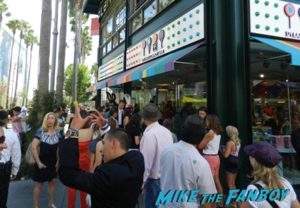 elizabeth berkley is a total bitch at the dylan's candy bar store grand opening at the grove