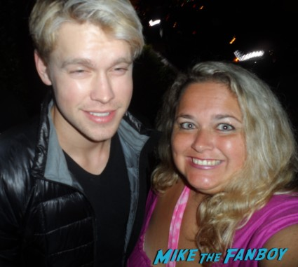 sexy chord overstreet fan photo glee star blonde sexy frat boy from glee workout rare promo