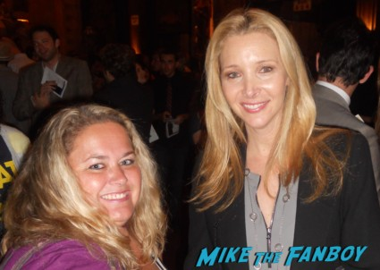 Lisa kudrow fan photo at a q and a rare promo with pinky rare hot sexy friends star romy and michele