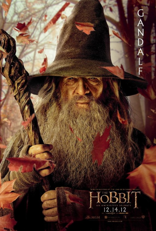 hobbit_an_unexpected_journey individual promo movie poster promo gandolf the grey