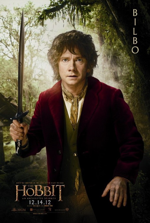 hobbit_an_unexpected_journey individual promo movie poster promo bilbo baggins