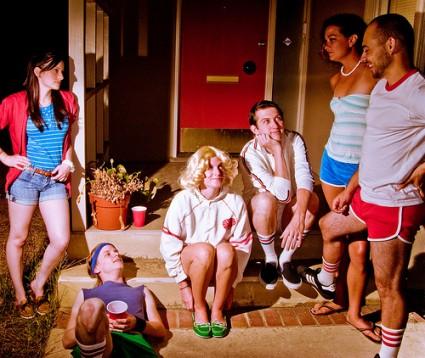 Wet Hot American Summer cast photo press promo still hot rare amy poehler david wain bradley cooper