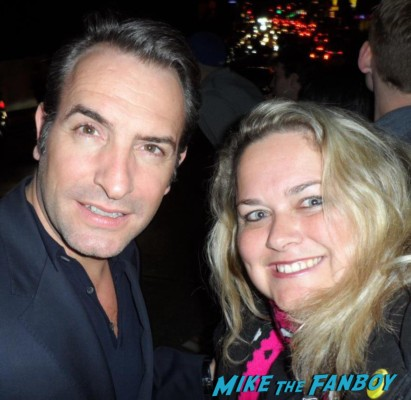 Jean Dujardin, fan photo signed autograph promo the artist star hot sexy french actor