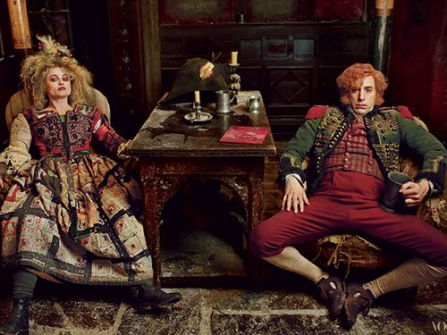Annie Leibovitz les miserables photo shoot vogue magazine december 2012 anne hathaway hugh jackman amanda seyfried russell crowe