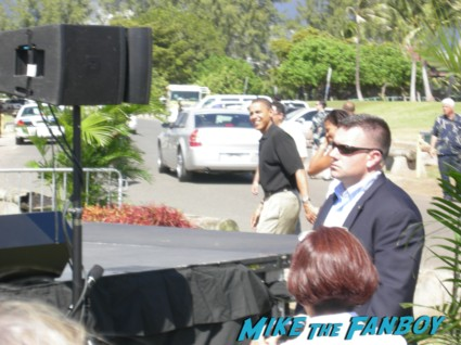 president barack obama arriving to a speech in 2008 hawaii rare pre nomination president signed signing autographs rare promo signature