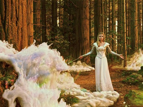michelle williams in a press promo movie still from Oz The Great and Powerful rare promo hot sexy star