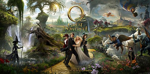 james franco in a press promo movie poster still from Oz The Great and Powerful rare promo hot sexy star