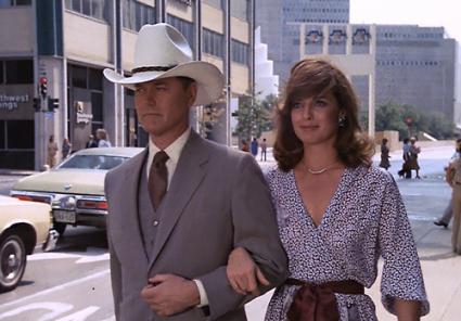 Larry Hagman dallas J.R. Ewing rare promo press still hot  Hot Sexy texas cowboy with his en gallon hat