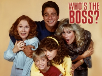 who's the boss rare promo cast photo press promo still judith light katherine helmond alyssa milano tony danza danny pintaro Alyssa Milano who's the boss rare promo hot sexy press promo still photo sam samantha micelli abc series rare