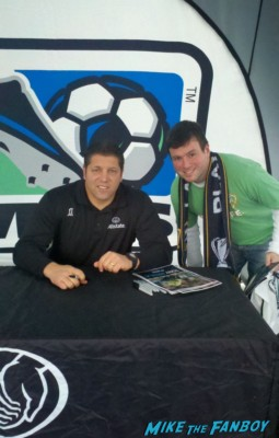 Tony Meola sexy hot soccer player rare promo signing autographs for fans sexy rare autograph