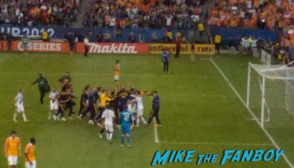 LA Galaxy houston soccer teams david beckham's final game playing soccer with the LA Galaxy