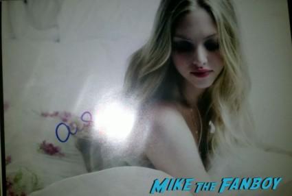 amanda seyfried signed autograph promo photo hot sexy dance mean girls photo