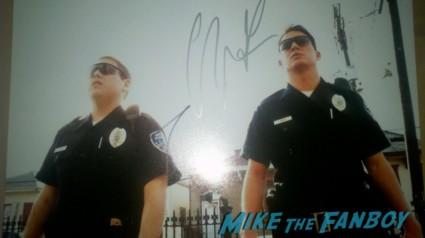 jonah hills signature autograph signed 21 jumpstreet photo rare promo skinny jonah hill police officer uniform