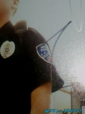 jonah hills signature autograph signed 21 jumpstreet photo rare promo skinny jonah hill police officer uniform
