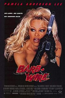 Barb Wire movie poster one sheet promo pamela anderson rare hot sexy baywatch star sexy rare VIP