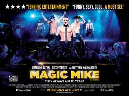 magic mike uk quad mini movie promo poster hot sexy naked channing tatum joe mangienello matt bomer rare promo