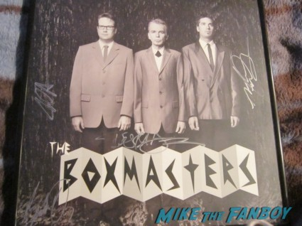 Billy bob thornton signed autograph boxmasters cd lp rare bad santa dvd cover photo rare promo lauren graham promo rare