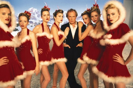 Billy Mack bill nighy rare christmas promo still sexy dancers keira knightly in love actually rare press promo movie still Hugh grant in love actually promo press movie still hot rare prime minister love actually uk quad mini movie poster promo press promo still emma thompson liam neeson hugh grant bill nighy alan rickman