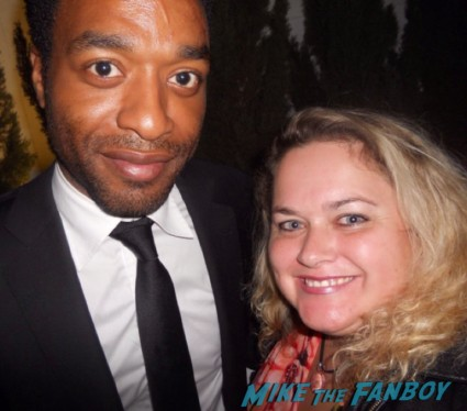 Chiwetel Ejiofor hot sexy love actually star rare promo signing autographs for fans rare sexy photo shoot rare promo