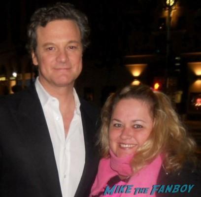 colin firth signed autograph fan photo rare promo hot sexy love actually star the king's speech rare