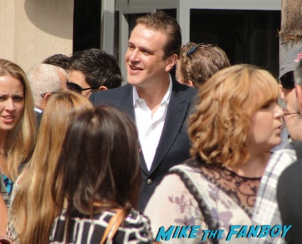 Jason Segel at Neil Patrick Harris star ceremony walk of fame rare promo how I met your mother forgetting sarah marshall star