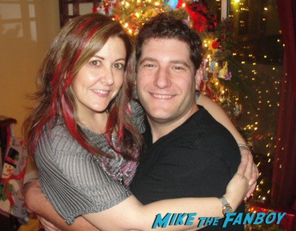 mike the fanboy and suddenly susan at the mike the fanboy holiday christmas party