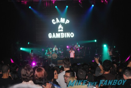 Childish Gambino concert aka: Donald Glover concert marquee oakland ca marquee hot community star rare promo