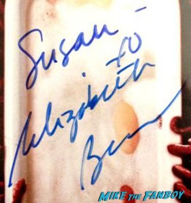 Elizabeth Banks signed autograph dvd photo signature slither dvd hunger games rare promo