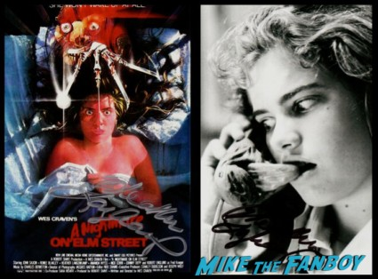Heather Langenkamp signed autograph poster photo rare a nightmare on elm street freddy just the 10 of us