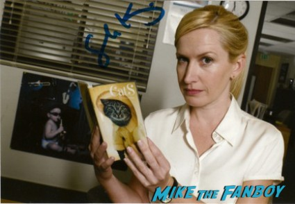 Angela Kinsey the office signed autograph photo signature rare promo hot sexy nbc star