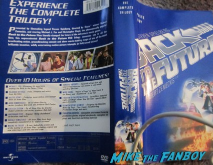 back to the future unsigned dvd cover rare tom hanks promo robert zemeckis