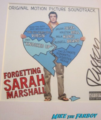 russell brand signed autograph forgetting sarah marshall movie poster cd cover jason segel signed autograph forgetting sarah marshall dvd cover rare Jason Segel at Neil Patrick Harris star ceremony walk of fame rare promo how I met your mother forgetting sarah marshall star