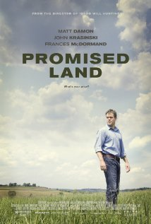 Promised Land movie poster promo matt damon rare frakking film one sheet teaser poster promo rare